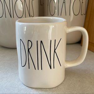 Rae Dunn DRINK Mug 2017